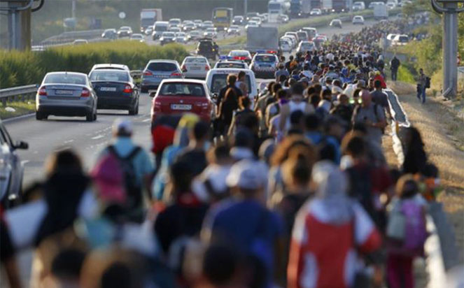 Мигранты в Австрии