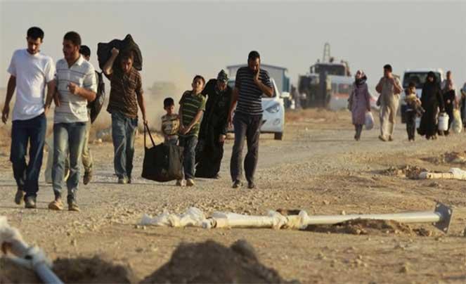 Беженцы с ближнего востока