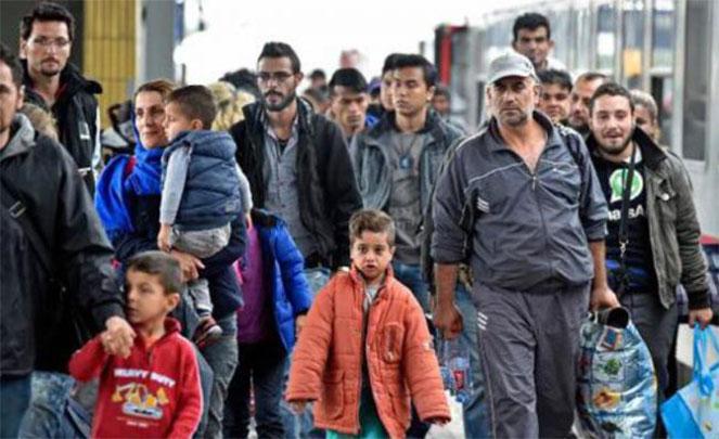 Навала беженцев