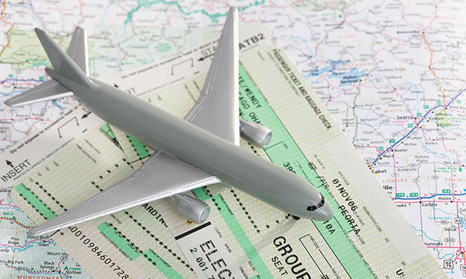 Перелет за границу