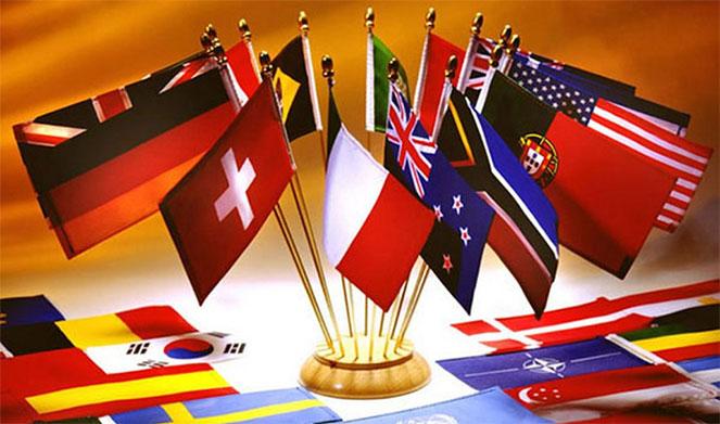 Страны Америки, Африканского континента и Азии
