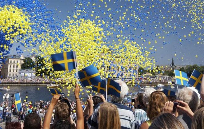 Жители Швеции