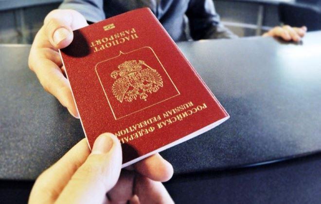 паспорт с готовой визой