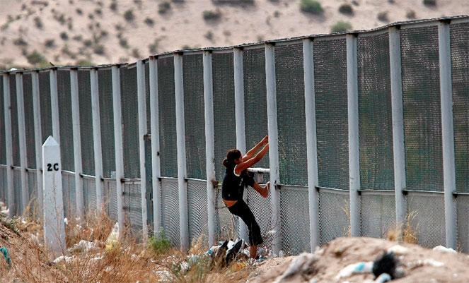 Нелегальный мигрант