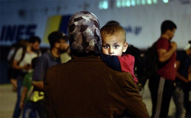 Беженцы в Греции