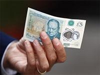 Новая 5-фунтовая банкнота