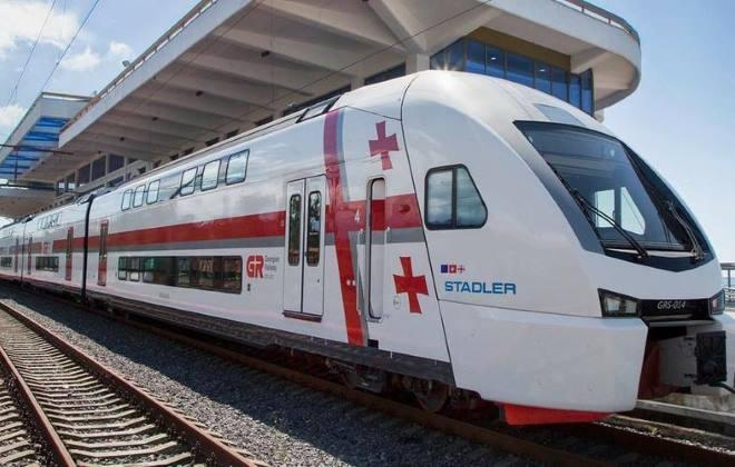 Железнодорожное сообщение в Грузии