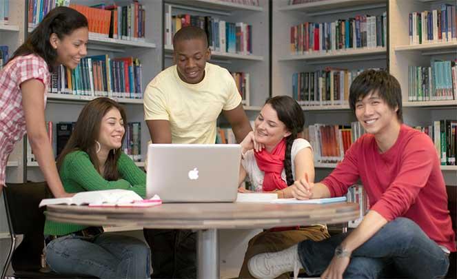 Студенты в Дании