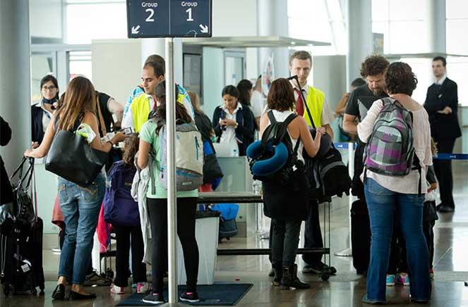 Туристы в Израиле