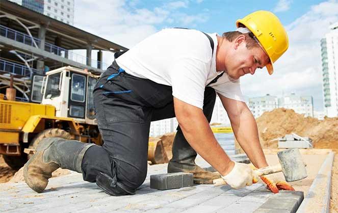 Работа на строительстве