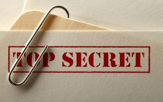 Папка Топ сикрет
