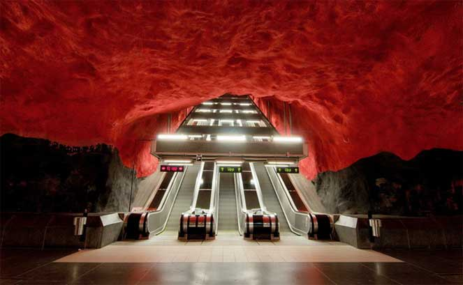 Метро в Швеции