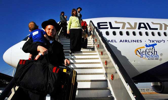 Перелет в Израиль
