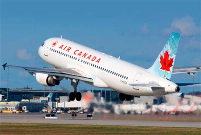 Перелет в Канаду