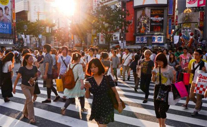 Люди в Японии