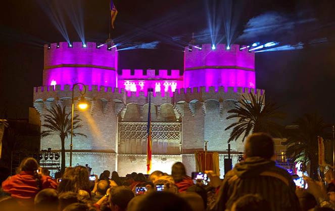 Башни ворота торрес де серранос