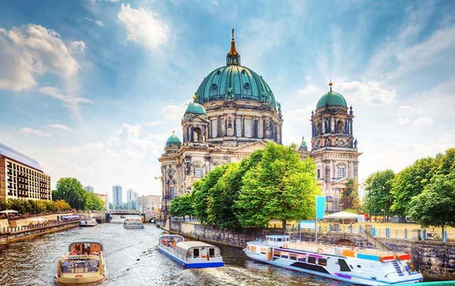Погода в берлине летом