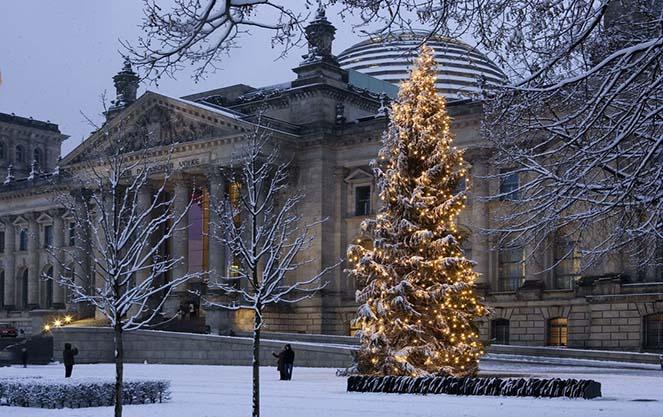 Погода в берлине зимой