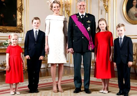 бельгийская семья