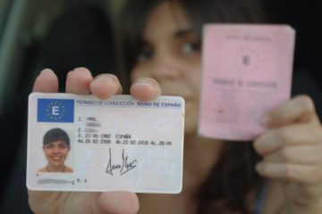 водительские права в Испании