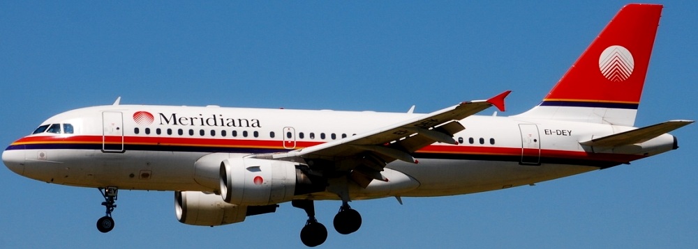 Авиакомпания Meridiana Fly