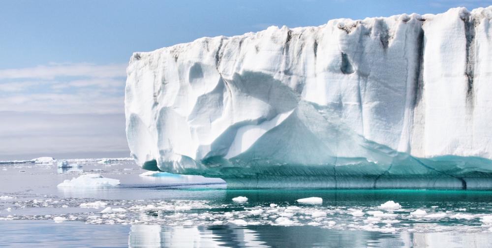 Формы ледника Гренландии