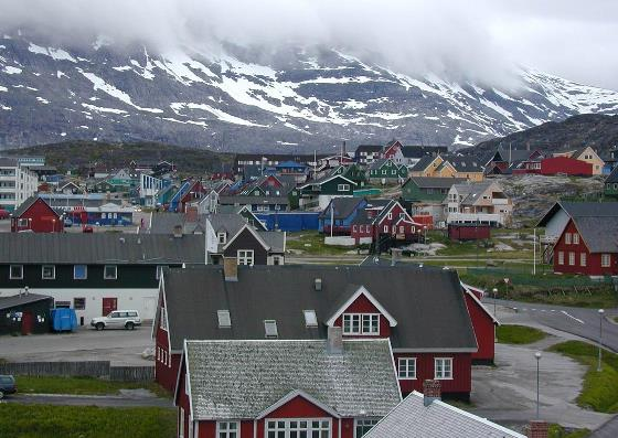 Нуук: столица Гренландии